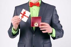 Win een huis royalty-vrije stock fotografie