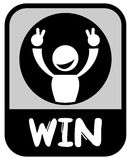 Win icon Stock Photo
