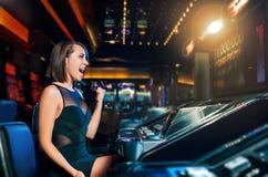 Free Win On Slot Machine Stock Image - 48422631