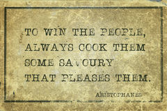 Win people Aristophanes Royalty Free Stock Photography