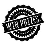 Win prizes stamp Stock Photos