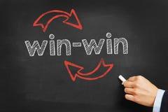 Win-Win Situatieconcept royalty-vrije stock fotografie
