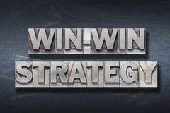 Win-win strategiehol stock fotografie