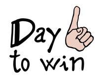 Win symbol Stock Image