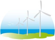 Win turbines Stock Fotografie