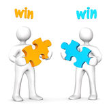 Win-Win Business Royalty Free Stock Images