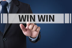 WIN WIN Stock Images