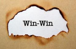 Win - Win Royalty Free Stock Image