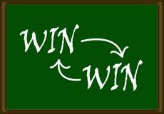 Win-Win Concept Royalty-vrije Stock Foto