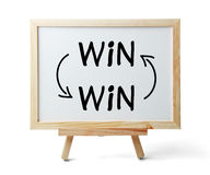Win-win concept royalty-vrije stock fotografie