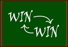 Win-Win Concept Royalty Free Stock Photo