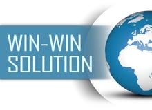 Win-Win Oplossing royalty-vrije stock foto