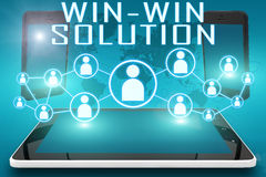 Win-Win Solution Stock Photo