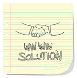 Win Win Solution Royalty Free Stock Photos
