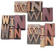 Win-win strategie of compromis stock fotografie