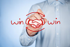 Free Win Win Strategy Royalty Free Stock Image - 46710006