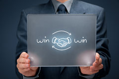Win win strategy Royalty Free Stock Photos
