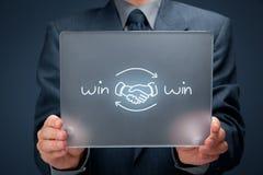 Win win strategy Royalty Free Stock Photos