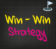 Win-Win Strategy Stock Images