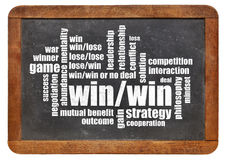 Win-win strategy Stock Photos