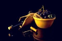 Win winogrona i, fotografia stock