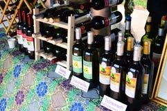 Win winogrona, Indiański Agrestowy wino Parviflora i wino, Zdjęcie Royalty Free