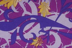 Wina barwionego tła bawełniana tkanina Zdjęcia Royalty Free