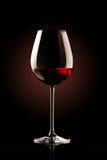 Wina ponowny szkło zdjęcia royalty free
