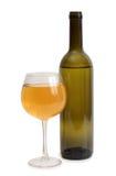 Wina szkło na białym tle obraz stock