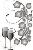 wina winogrona Obraz Stock