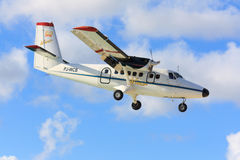 Winair Twin Otter Stock Photo