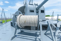 Winch with rope Stock Images