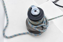 Winch tie knot Stock Image