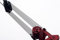 Winch and wires Stock Image