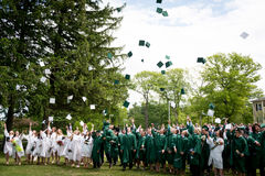 The Winchendon School Alumi graduation Royalty Free Stock Images