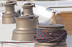 Free Winches Stock Image - 4533291
