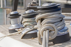 Winches Royalty Free Stock Photography