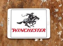 Winchester που επαναλαμβάνει το λογότυπο επιχείρησης όπλων Στοκ φωτογραφία με δικαίωμα ελεύθερης χρήσης