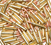 308 Winchester Cartridges. Cartridges in 308 Winchester caliber Stock Photo