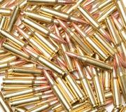 308 Winchester Cartridges. Stock Photo