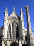 Winchester Cathedral Royalty Free Stock Images
