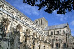 Winchester, The Cathedral stock image