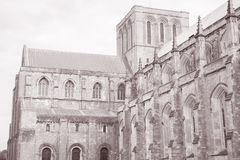 Winchester Cathedral Church, England Stock Photo