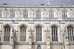Winchester Cathedral Church, England, UK Royalty Free Stock Photos