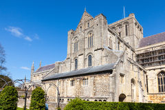 Winchester Cathedral Royalty Free Stock Photo