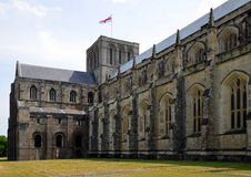 Winchester Cathedral. At Winchester in Hampshire,England,U K Royalty Free Stock Images