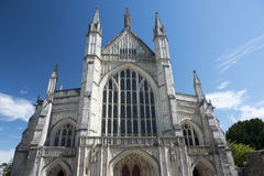 Winchester Cathedral,  Winchester, Hampshire, England Stock Photos