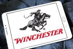 Winchester die het embleem van het Wapensbedrijf herhalen Royalty-vrije Stock Foto