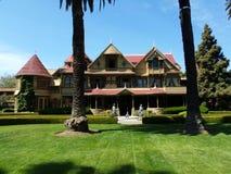 Winchester gåtahus, San Jose, Kalifornien royaltyfri foto