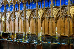 WINCHESTER, HAMPSHIRE/UK - MARCH 6 : Interior View of Winchester Royalty Free Stock Images